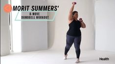 This 8-Move Dumbbell Routine Will Work Your Entire Body