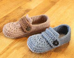 Crochet Slipper Pattern  Slingbacks Woman sizes 3-12