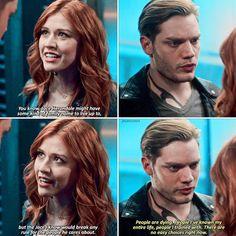 """#Shadowhunters 2x14 """"The Fair Folk"""" - Clary and Jace"""