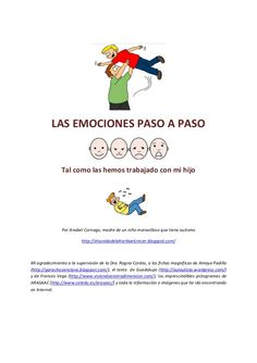 las-emociones-paso-a-paso by Anabel Cornago via Slideshare