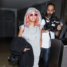 Blac Chyna spotted arriving at LAX Airport in Los Angeles