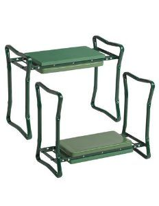 Extra Wide-Seat Folding Garden Kneeler Green #Patio #Lawn #Garden #Gardening  #outdoor #home