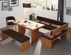 Esszimmer aus massivem Eichenholz - für Haushalte mit dem gewissen Anspruch