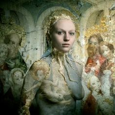 "Saatchi Art Artist Bear Kirkpatrick; Photography, ""Nicole: After the Masters of St. Veronica"" #art"