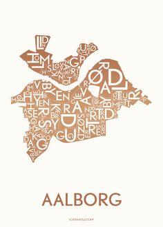 Poster: AALBORG by Kortkartellet
