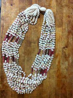 Ni'ihau shell lei by Kuana Torres Kahele