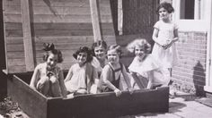 The sandbox photo - Anne Frank and friends. Photographer's 21,000-mile journey to document lives of Anne Frank's friends who lived . . .