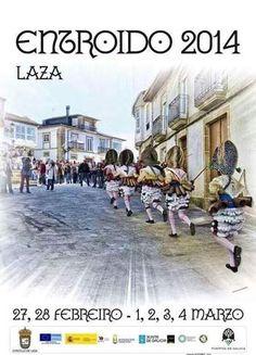 "ESPAÑA (V., 14 FEB 2014) ||||| CARNAVAL DE LAZA: 27, 28 FEB., 1,2,3,4 MAR 2014. ""Carnaval Laza 2014. Programa completo"". Ocio en Galicia"
