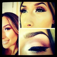 Dipdown fluidline eyeliner with brush #266 (Mac cosmetics)  This was my go to person for my hair and make up on my wedding day! She is a perfectionist when it comes to your make up and hair! To schedule an appointment email her at macartist1@yahoo.com