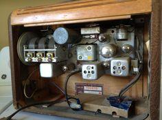 philco 1946 tube radio Power Strip, Tube, Garage, Carport Garage, Garages, Car Garage, Carriage House