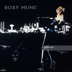 The album cover sleeve of For Your Pleasure by Roxy Music, record released in 1973.