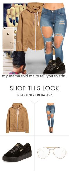 """""""untitled #122"""" by yani122 ❤ liked on Polyvore featuring Puma and CÉLINE"""