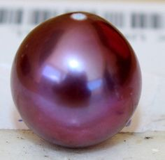 Ultra Rare! 18k solid gold Bail 12.3MM High Luster AAAAA+ Natural Color Purple Japanese Kasumiga Kasumi Pearl Stunning Pendant by BellaDAndalora on Etsy