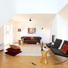 Very simple, sophisticated rug