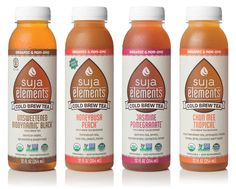Suja Elements Cold Brew Tea on Packaging of the World - Creative Package Design Gallery