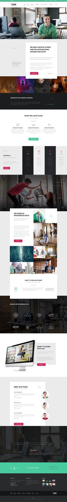 The Core : Multi-Purpose WordPress Theme