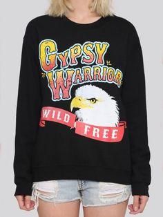Wild & Free Pullover http://shop.nylon.com/collections/whats-new/products/wild-free-pullover #NYLONshop