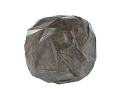 "Spherical Platonic Solid #3 by David Kawecki Laser cut and hand-welded 3-dimensional sculpture 18"" Spherical $3995"