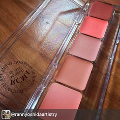 RCMA Cheek Palette Php1450 . To place an order please visit our shopping site www.dtcmakeup.com or please send us a DM or viber message at 09173116912 . After several attempts I know it is the perfect time to bet on you!  For the love of my gorgeous clients  Get this now only at @dtcmakeup #RannYoshidaArtistry #RCMA  #PutColorOnYourLips  #MakeupArtistManila  #MakeupArtistPH  #MUAph