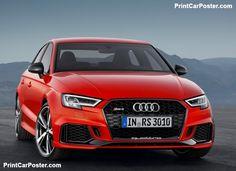 Audi RS3 Sedan 2017 poster, #poster, #mousepad