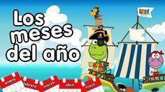 Meses del año en inglés y español - Canciones Infantiles - kids songs in...