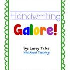 Handwriting+pages+for+all+letters+of+the+alphabet!++Each+page+has+practice+lines+for+capital+and+lowercase,+capital+and+lowercase+identification+bo...