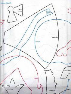 goma eva hadas y princesas - fabiana tarjetas - Álbumes web de Picasa