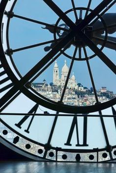 My two favorite places in Paris! Sacre Coeur, From the Musée d'Orsay, Paris France >>> Seen this view myself, from the cafe on the museum's upper floor. Beautiful Paris, I Love Paris, Paris Travel, France Travel, Paris France, Paris Paris, Paris Ville, Tour Eiffel, Belle Photo