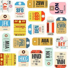 baggage tags