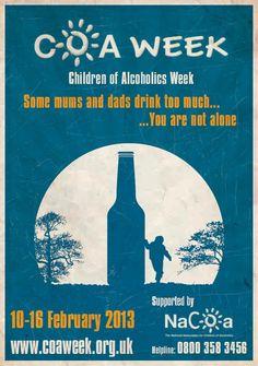 15 nacoa posters ideas children of