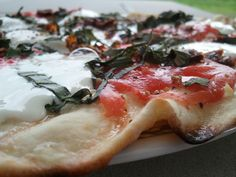 We LOVE making pizzas on the grill!! This is one of my recipes that I created.