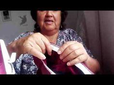 Cómo poner un elástico de 2 cms de ancho con doble costura a pantalón de buzo - YouTube