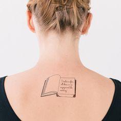 Temporary Literary Tattoos | Litographs