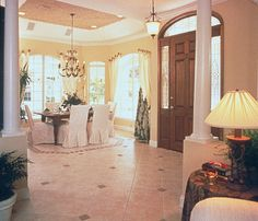 Lovely open foyer - 047D-0058 | House Plans and More