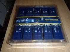 Doctor Who Tardis Christmas Lights 10 Total (Matt Smith Karen Gillan) | eBay