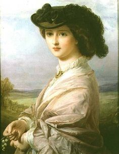 thomas francis dicksee artist | Lady in a Landscape - Thomas-Francis Dicksee as art print or hand ...