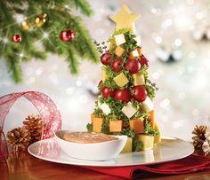 Arbolito navideño botanero