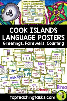 The 94 best samoan literacy activities images on pinterest in 2018 cook islands mori greetings introductions farewells classroom display posters m4hsunfo