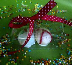 Caja para dulces Materiales: acetato,cinta