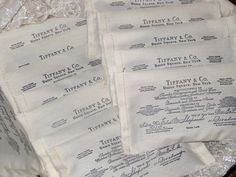 Tiffany and Company Lavender Sachet Filled от VintageParisMarket