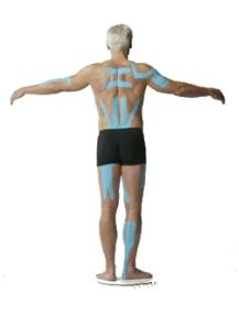 Kinesiology Taping Applications. Great to increase stability without relying on bulky braces every time. #kinesio #subluxation