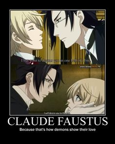 Claude Faustus x Alois Trancy