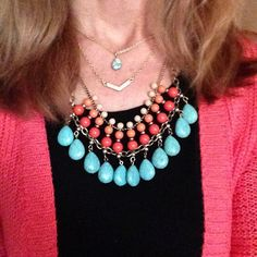 Jolie with Sunset Necklace by #premierdesigns