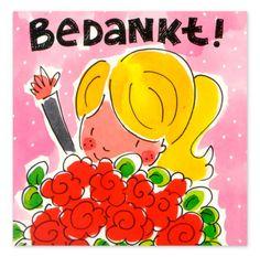 Blond Amsterdam | Bedankt www.hipenstipkaarten.nl