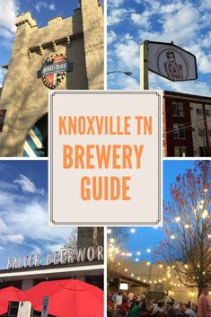 Have you been interested in checking out a few of the fantastic breweries in Knoxville? This Knoxville, TN Brewery Guide lists all the breweries and has an interactive map to help you find exactly where they are located. #knoxville #tennessee #knoxvillebreweries #beer #craftbeer #thewanderguide