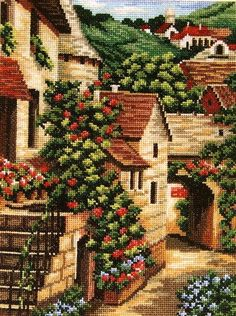 ru / Photo # 1 - Italy from the World Cup - frango Gallery.ru / Photo # 1 – Italy from the World Cup – frango Cross Stitch House, Cross Stitch Art, Beaded Cross Stitch, Cross Stitch Flowers, Cross Stitch Designs, Cross Stitching, Cross Stitch Embroidery, Cross Stitch Patterns, Cross Stitch Cushion