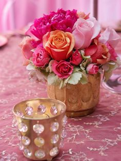 A Big Pink New Jersey Wedding : Decorating : Home & Garden Television