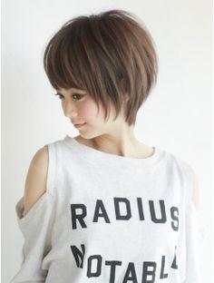《AFLOATディル裕二朗》小顔シャープシルエットショートヘア Short Hair With Layers, Short Hair Cuts, Medium Hair Styles, Short Hair Styles, Asian Short Hair, Cute Haircuts, Corte Y Color, Hair Color And Cut, Toddler Hair