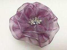Lavender Magnetic Brooch, Magnetic Scarf Pin by VintageBloomsByEllen