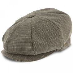 07d43157d70fa Textbook - Walrus Hats Sage Grey Polyester 8 Panel Newsboy Cap